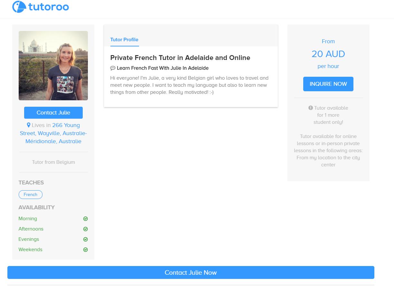 Enseigner une langue étrangère avec Tutoroo en Australie