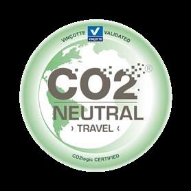 Label CO2 Neutral Travel par Vinçotte